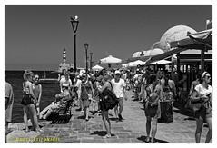 Old Harbour (Dr_Babis) Tags: nikon d610 fx nikkor50mm bw blackwhite monochrome greece chania crete