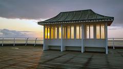 AUG 27 18 - CROMER-5651 (mrstaff) Tags: august272018 beach cloudy cromer dry groyne longexposure martinstafford norfolkcoast pier seascape sunrise tide warm