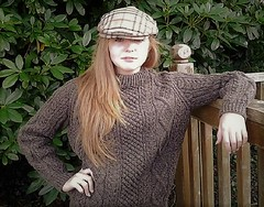 Teenage in aran fisherman unisex outfit (Mytwist) Tags: irishhandcrafts teen outfit knitwear unisex teenage viking sweatergirl casual chunky knit itchie sexy craft girl female design fashion girlfriend wool retro timeless happy smile vouge bulky cozy sweater jumper laine lovely passion style designed weekend tweed ravelry mytwist handgestrickt vintage blue aran irish fisherman ireland donegal sexyteen unwanted