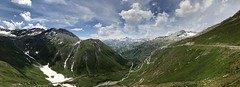 Furka Pass (Mono Andes) Tags: alpes alps suiza schweiz panorámica uri valais fuskapass goldfinger jamesbond