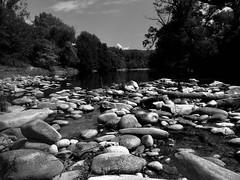 Young Ardeche (salparadise666) Tags: nature landscape river monochrome white black be cevennes pradons ardeche
