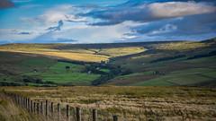 Glimpse of Light (Jamesylittle) Tags: carrshiled sunshine sun fell moore bleak nothing border