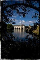 Vieilles pierres sur le Cher... (*Jost49* (±Off)) Tags: régioncentre chenonceaux château castle rivière river cher paysage landscape cadre border texture architecture