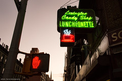 Candy shop Luncheonette in Upper east Side (hervedulongcourty) Tags: deli reflection streetphotography lexingtonavenue ombre citylife sonynex7 nyc photography cafe candyshop carlzeisslenses photo usa lexington signpost street cityscape publicité zeissselsonnart24mmf18za restaurant dinner red luncheonette ciel sony zeiss uppereastside carlzeiss signaletique manhattan city sonnarte1824 nex7 green unitedstates sky advertisement bar ngc sonyflickraward