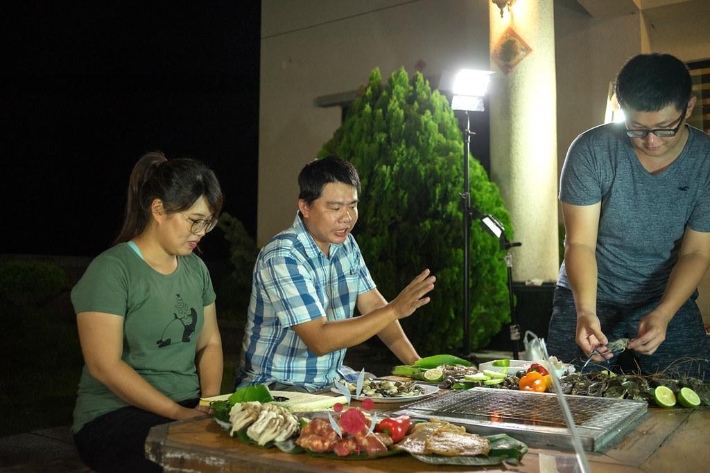 最奢華的中秋烤肉組 海鮮大集合之 龍膽石斑、泰國蝦、蚵、大卷 |小農聯盟14
