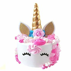 Unicorn Horn Cake Topper Set (mywowstuff) Tags: gifts gadgets cool family friends funny shopping men women kids home