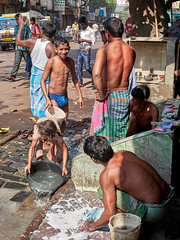 "Calcutta (toshu2011) Tags: india indien hindu hinduism gandhi hindi kolkata calcutta kalkutta west bengal bengali bengalen port city ganges hooghly river ganga megacity ""city joy"" cultural ""east company"" colonial era architecture boy boys jungs kinder buben youth smile happiness happy people teen teenager gente ragazzi twink"