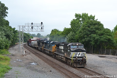 NS 9138 GE D9-44CW (Trucks, Buses, & Trains by granitefan713) Tags: train freighttrain railroad railfan ns norfolksouthern ge generalelectric gec449w ged944cw d944cw dash9 roadpower mixedfreight manifest marion