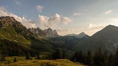 La Gruyère - Jaun / Ref.02351 (FRIBOURG REGION) Tags: suisse switzerland schweiz fribourgregion fribourgrégion lagruyère jaun grandtourdesvanils été sommer summer préalpes voralpen prealps alpes alpen alps montagne mountains berge gastlosen sky himmel ciel landschaft paysage landscape