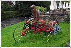 Beddgelert Bikes (zweiblumen) Tags: sculpture beddgelertbikes beddgelert gwynedd wales cymru uk canoneos50d polariser zweiblumen