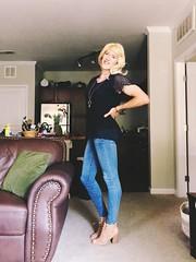 Blond Monday's! (amber.lynn88) Tags: m2f crossdressing crossdress trans tgurl tgirl
