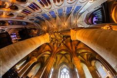 Notre Dame de Paris (L'Abominable Homme de Rires) Tags: cathedrale notredamedeparis gothique church architecture paris city travel dxo photolab lightroom 815mmfisheyef4 fisheye canon5d 5dmkiii