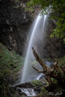 Wasserfall in Schlitters Österreich