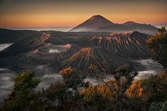 The Land of Volcanos (Roberto Pazzi Photography) Tags: famous place historical travel destinations landmark tourism sightseeing indonesia java places culture nobody sun landscape bromo volcano semeru tengger national park awakening