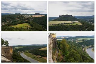Collage Festung Königstein - 3