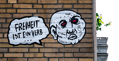 HH-Wheatpaste 3822 (cmdpirx) Tags: hamburg germany reclaim your city urban street art streetart artist kuenstler graffiti aerosol spray can paint piece painting drawing colour color farbe spraydose dose marker stift kreide chalk stencil schablone wall wand nikon d7100 paper pappe paste up pastup pastie wheatepaste wheatpaste pasted glue kleister kleber cement cutout