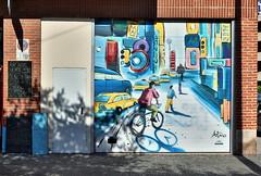 Artiste non identifié (Thethe35400) Tags: artderue arteurbano arturbain arturbà arteurbana calle grafit grafite grafiti graffiti graffitis graff mural murales muralisme plantilla pochoir stencil streetart schablone stampino tag urbanart wall