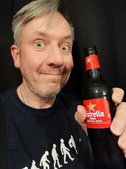 September 17th 2018 - Project 365 (Richard Amor Allan) Tags: beer selfie smile toast project365