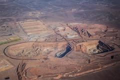 Minera Spence, Calama (rsoledadvf) Tags: aerialphotography chile chileanlandscape desertofatacama calama aeriallandscape mineria