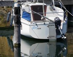 Dutch Boat Names at Veere (77) (bertknot) Tags: funnyboatnames dutchboatnames leukebootnaam leukebootnamen veere