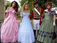 Jane Austen Parade (jacquemart) Tags: janeaustenparade regency costume reenactment promenade bath
