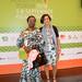 IITA's Toyin Oke and Kathy Lopez at 2018AFP in Kigali