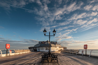 On Cromer Pier at Dawn