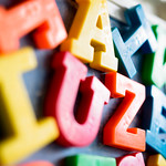 Colorful letter magnets thumbnail