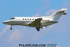 N475HM (PHLAIRLINE.COM) Tags: philadelphiainternationalairport kphl phl bizjet spotting spotter airline generalaviation planes flight airlines philly
