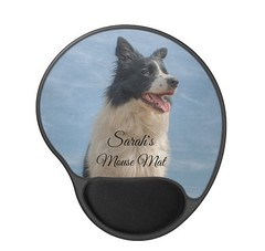 Collie Mouse Mat (devonsunshine) Tags: dogs bordercollie collie pets mousemat mousepad paws doglover bordercolliegifts giftideas customisable custom name cutedog summer