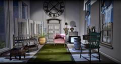 The Room with the Terrace (BEAUTY(influencer)) Tags: backbone shinyshabby cinphul merak keke milkmotion dahlia kunst {marukado} jian hive