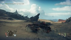 Mad Max_20180924234101 (Livid Lazan) Tags: mad max videogame playstation 4 ps4 pro warner brothers war boys dystopia australia desert wasteland sand dune rock valley hills violence motor car automobile death race brawl scenery wallpaper drive sky cloud action adventure divine outback gasoline guzzoline