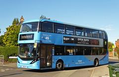 Nottingham City Transport 441 (SRB Photography Edinburgh) Tags: nottingham city transport buses bus sky blue 45 travel uk england