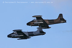 7621 Strikemaster Duo (photozone72) Tags: northweald aviation aircraft jets classicjet strikemaster strikedisplay markpetrie canon canon7dmk2 canon100400f4556lii 7dmk2