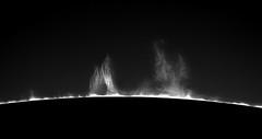 Prominence mono (plndrw) Tags: sun solar zwo prominence televue monochrome