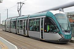 Nottingham Express Transit 237 (Sam Pedley) Tags: 237 stuartbroadmbe nottinghamexpresstransit alstom citadis tram citadis302 net nottinghamstation alstomcitadis vehicle
