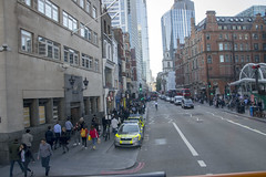 DSC_0853 City of London Bus Route #205 Bishopsgate Police station (photographer695) Tags: london bus route 205 city bishopsgate police station