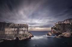 Old Dubrovnik City Walls Croatia (Russell Eck) Tags: old city walls dubrovnik croatia ancient adriatic sea long exposure longexposure nature landscape russell eck medieval history travel europe
