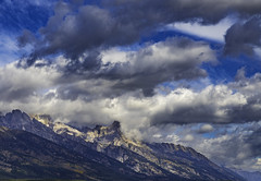 A last look (Tauck Travels) Tags: wyoming tetons clouds