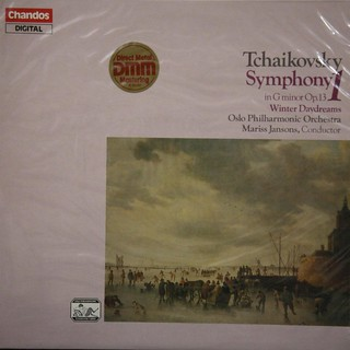 Tchaikovsky - Sym. No.1 in G minor Op.13, Winter Daydreams - Mariss Jansons - Oslo PO - Chandos ABRD 1139 - 企鵝三星帶花