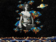 """Shine On your crazy diamond - Syd Barret"" (Marooned.Collage) Tags: pinkfloyd syd collage collageart collageartist collageartworks collagesociety contemporaryart surrealism surreal space sky stars visual visualart mixedmedia galaxy artwork art digitalart photoshop psychedelic"