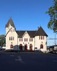 Halden stasjon 2018-05-09 (Michael Erhardsson) Tags: norge norway halden stationshus byggnad arkitektur maj 2018 vår