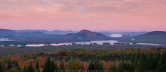 Fall Sunrise Over Attean Pond (Adam Woodworth) Tags: atteanpond autumn fall foliage maine mountains newengland sunrise westernmaine