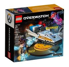 LEGO Overwatch Tracer vs Widowmaker 2 (hello_bricks) Tags: lego overwatch