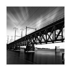 The Susquehanna River Rail Bridge (roylee21918) Tags: amtrak bridge susquehanna harford maryland monochrome blackwhite le dxo photolab