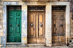 Which you choose (Siuloon) Tags: door doors architektura architecture architettura malta