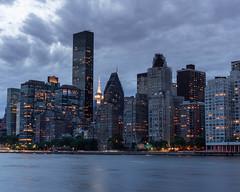 Manhattan at Dusk (bcpearce0) Tags: nyc urban manhattan river newyorkcity cityscape water skyline skyscraper newyork
