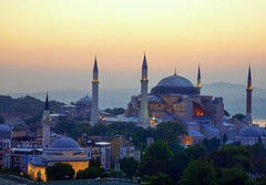 Aya Sophia (Istanbul) in early morning, Istanbul, Turkey (Frans.Sellies) Tags: p1380791 istanbul turkey