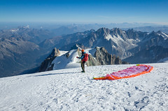 Mont Blanc Summit (pmedicus) Tags: mont blanc montblanc luis paragliding mountaineering mountains france summit mountaintop