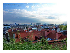 One evening in Zagreb. (natureflower) Tags: rooftop zagreb scenery evening croatia skysraper